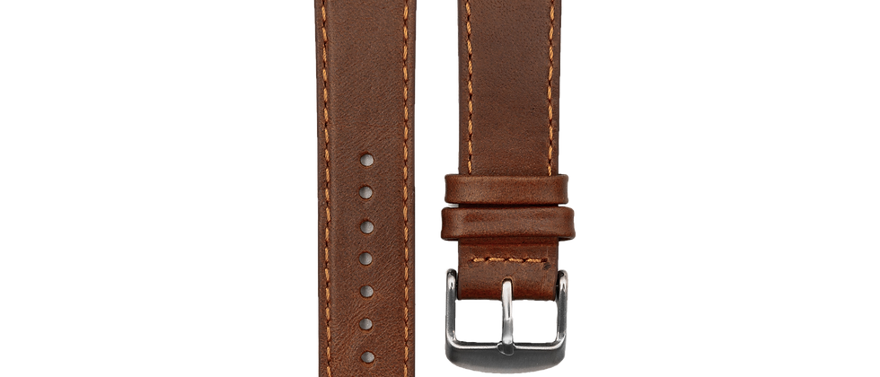 """Pull-up Calf Leather """"Tawny Brown"""""""
