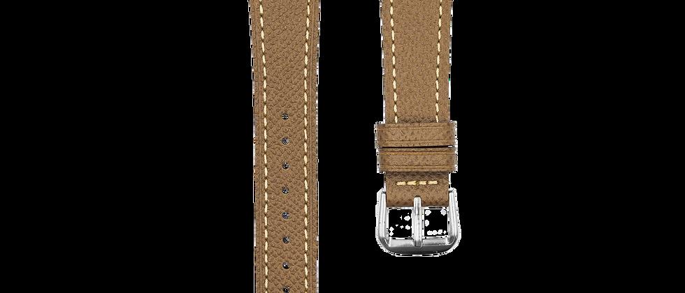 "Epsom Leather ""Khaki Tan"" for Apple Watch"