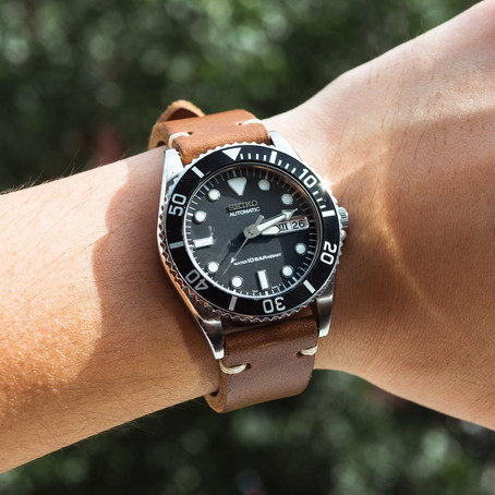 Types of Leather Commonly Used for Watch Straps