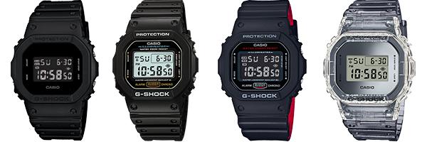 Casio G-Shock DW5600BB-1, DW5600E-1, DW5600, DW5600SK-1