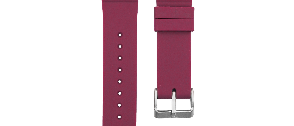 "Silicone Diver ""Wine Red"""