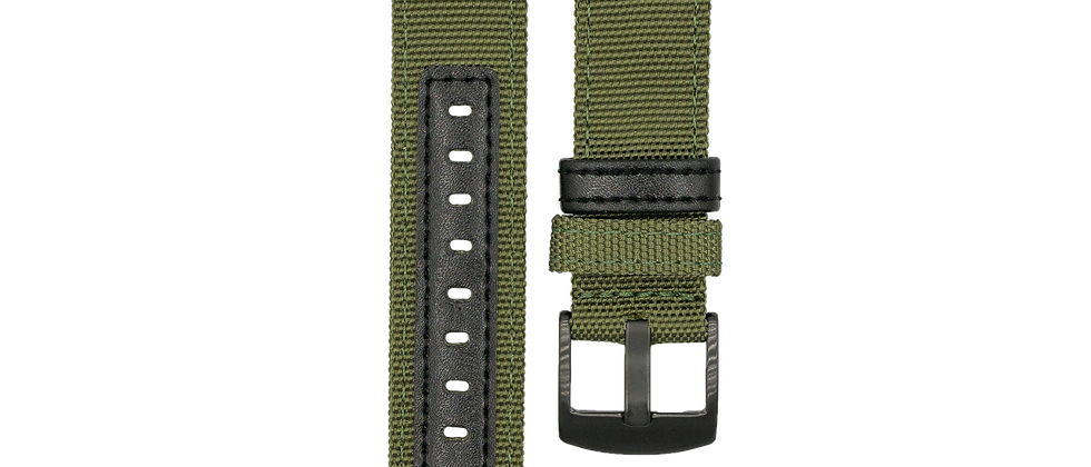 "Nylon Hybrid ""Army Green"""