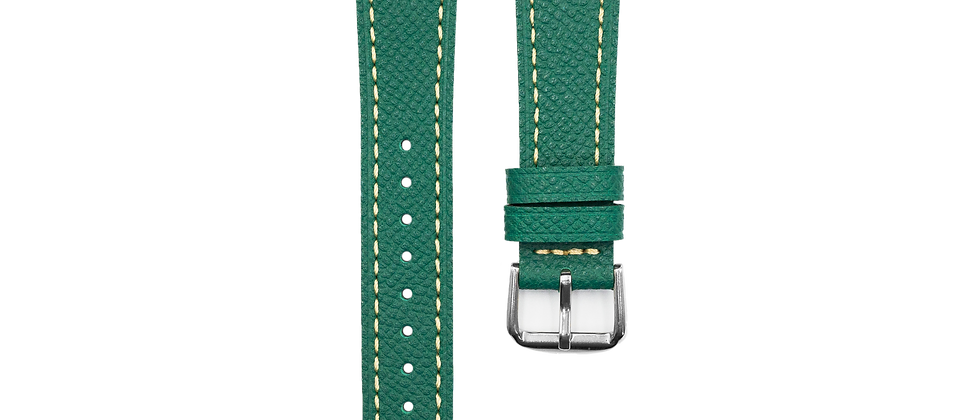 "Epsom Leather ""Turquoise Green"""