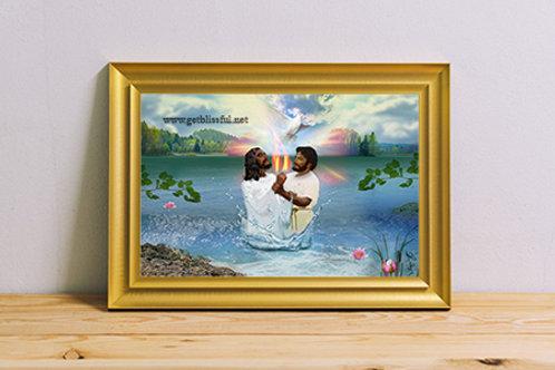 The Baptism 20x16 Giclee Print