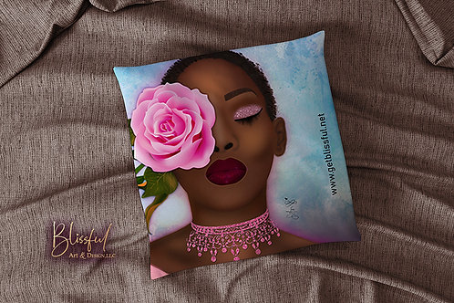 Kissed by A Rose - Pillow