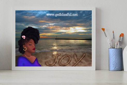 I Choose Joy 14x11 Giclee Print