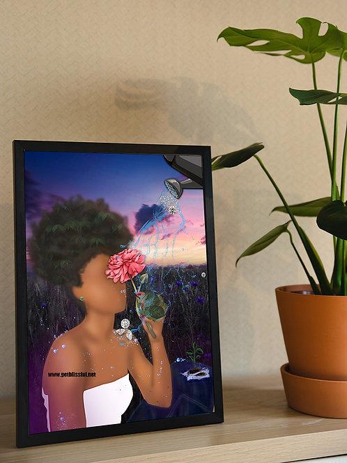 Flourishing Strength {Bloom} 9x12 Giclee Print