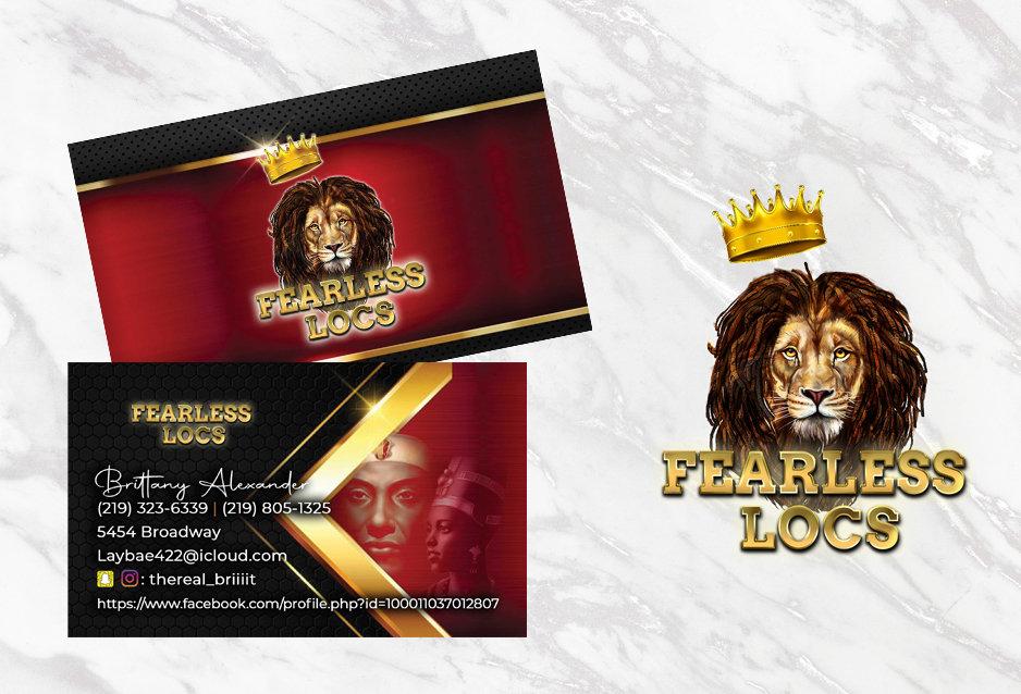 Business Cards + Logo