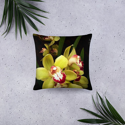 Green Orchid - Pillow