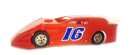dirt late model slot car, 1/24 scale slot car, slot car racing chicago illinois, 1/24 scale slot car
