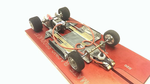 1/24 scale slot car chassis