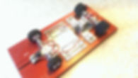 eliminator chassis, blueprint slot car