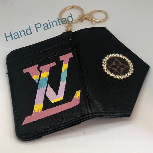 LV Keychain/credit card holder
