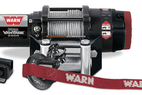 Warn Provantage 2500 Winch With Wire Rope