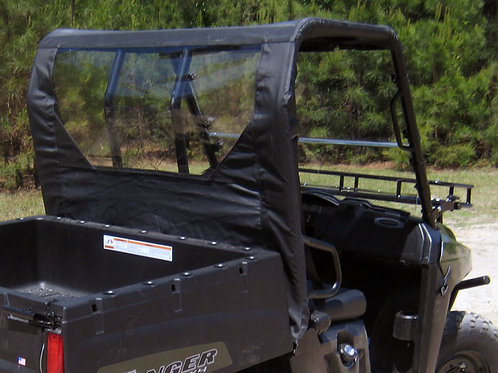 Seizmik Soft Top & Rear Panel – Polaris Midsize Round Tube Ranger