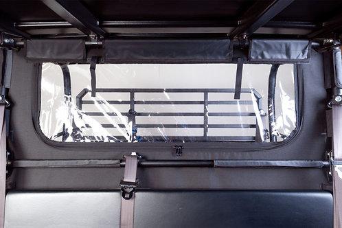 Seizmik Rear Soft Dust and Window Panel – Kawasaki Mule Pro FX/FXT