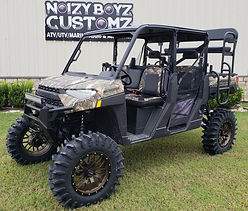 Lift kit on Camo Polaris 3rd row