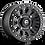 Fuel D920 Vector Beadlock Wheel profile view