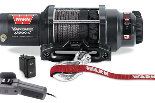 Warn Vantage 4000-S Winch With Synthetic Rope