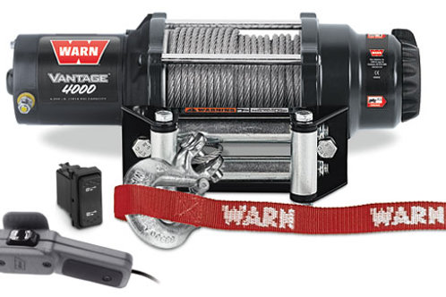 Warn Vantage 4000 Winch With Wire Rope