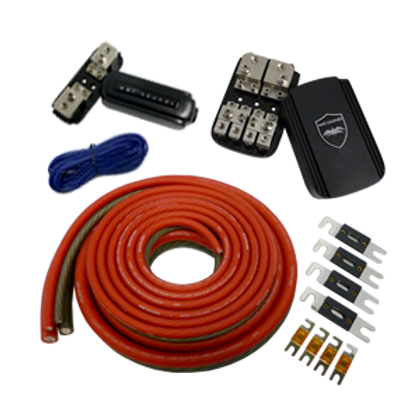 Wet Sounds Wet Wire 2 AMP Kit-Front
