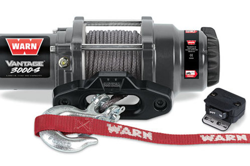 Warn Vantage 3000-S Winch With Synthetic Rope