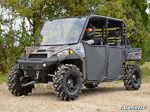 Polaris Ranger 100 with SuperATV 3 Inch Lift front side profile