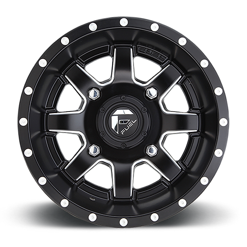 Fuel D538 Maverick UTV Wheel front view