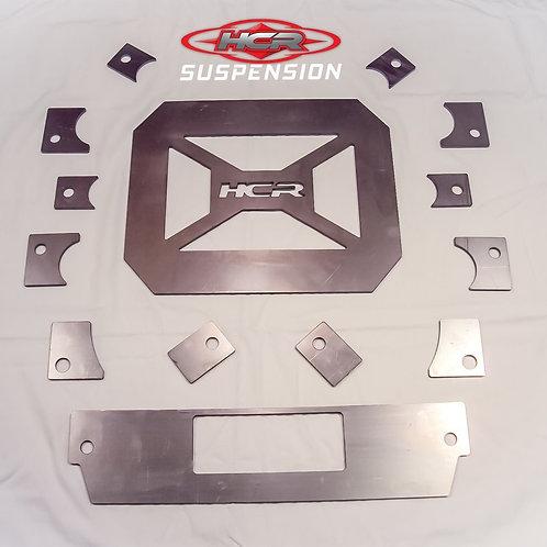 HCR Racing RZR-04420 Polaris RZR XP 900 OEM Gusset Frame Brace Kit