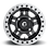 Fuel D917 Anza Beadlock Wheel front view