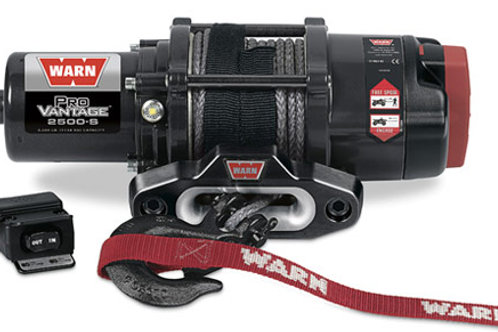 Warn Provantage 2500-S Winch With Synthetic Rope