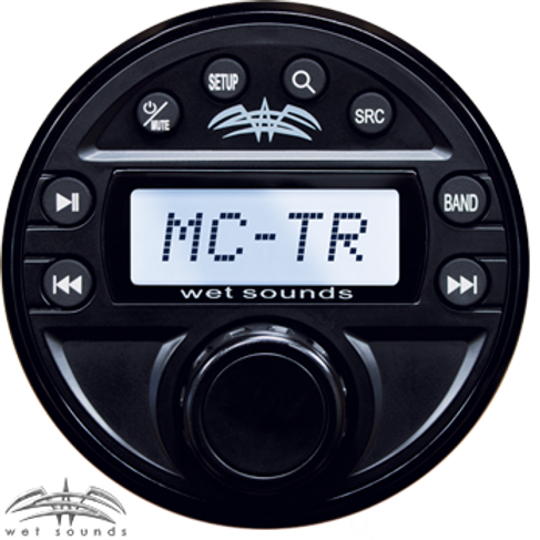 Wet Sounds Transom Auxiliary Remote for MC-1