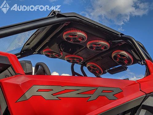 AudioFormz Polaris RZR PRO XP Roof Top Stereo Systems 2019+