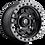 Fuel D557 Anza UTV Wheel profile view
