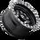 Fuel D557 Anza UTV Wheel bottom wheel view