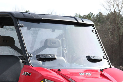 Seizmik Windshield Versa-Vent – Polaris Mid-Size Pro-Fit Ranger