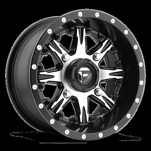 Fuel D541 Nutz UTV Wheel profile view