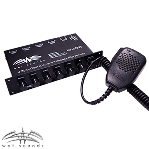 Wet Sounds WS-220BT 4 Zone Level Controller With Bluetooth