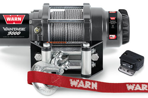 Warn Vantage 3000 Winch with Wire Rope