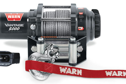 Warn Vantage 2000 Winch with Wire Rope