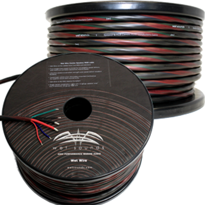 Wet Sounds WW-SPKR/RGB Combo 6 Conductor Spooled Wire