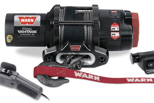Warn Provantage 3500-S Winch With Synthetic Rope