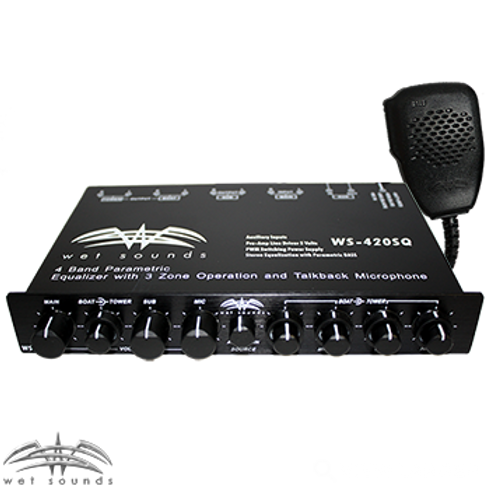 Wet Sounds WS-420SQ Parametric Equalizer