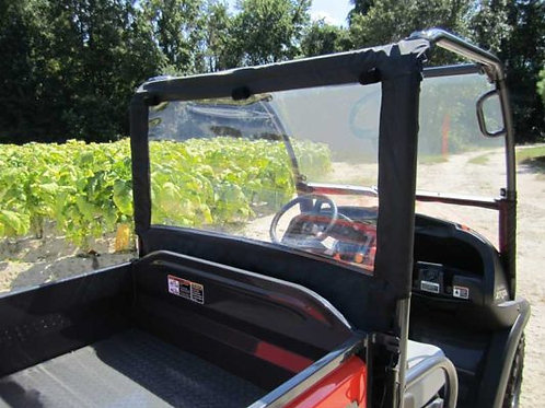 Seizmik Soft Rear Dust & Window Panel – Kubota RTV 500