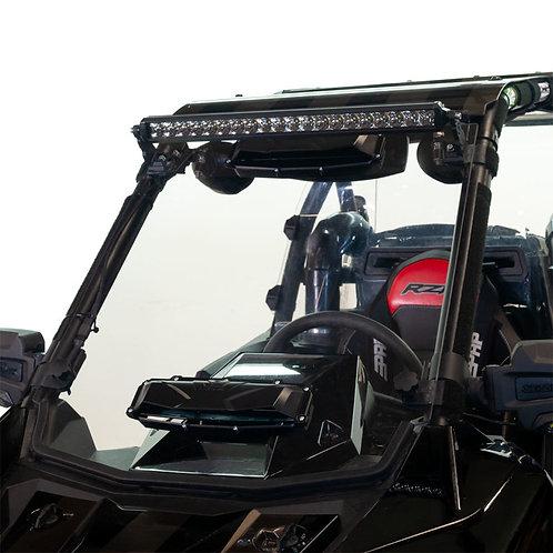Seizmik Windshield Versa-Vent (Hard Coated Poly) – Polaris RS1