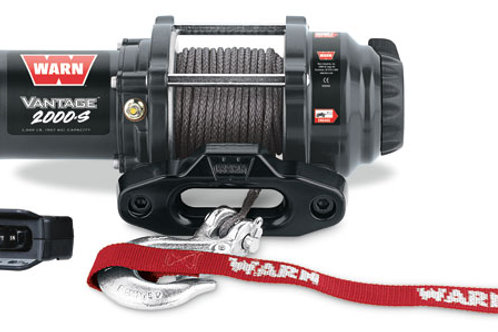 Warn Vantage 2000-S Winch with Synthetic Rope