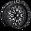 Thumbnail: FUEL OFF ROAD UTV WHEELS - STROKE - D611 - UTV