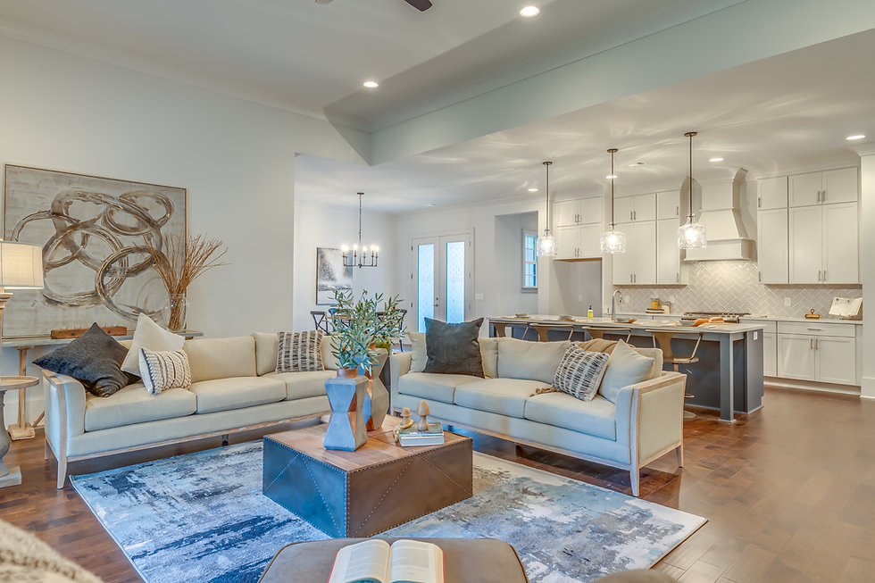 Camelot staged model home