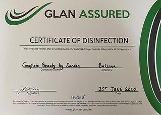 Glan Assured Cert.JPG