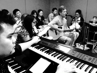 Rehearsal for Sunday Services at New Creation Church Singapore